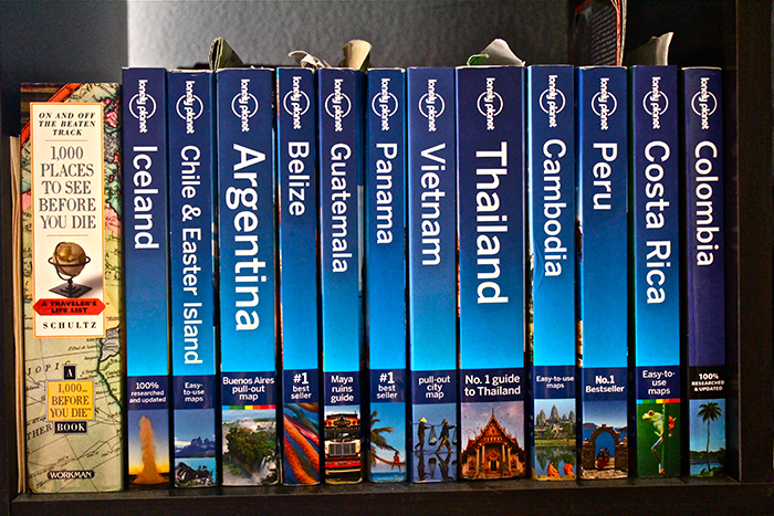 Lonely Planet Books | Around the World With Justin