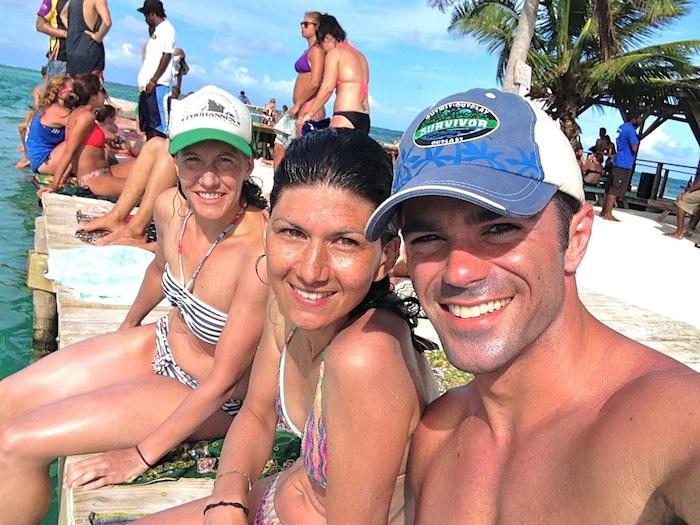 Caye Caulker snorkeling Belize Central America the split aroundtheworldwithjustin.com