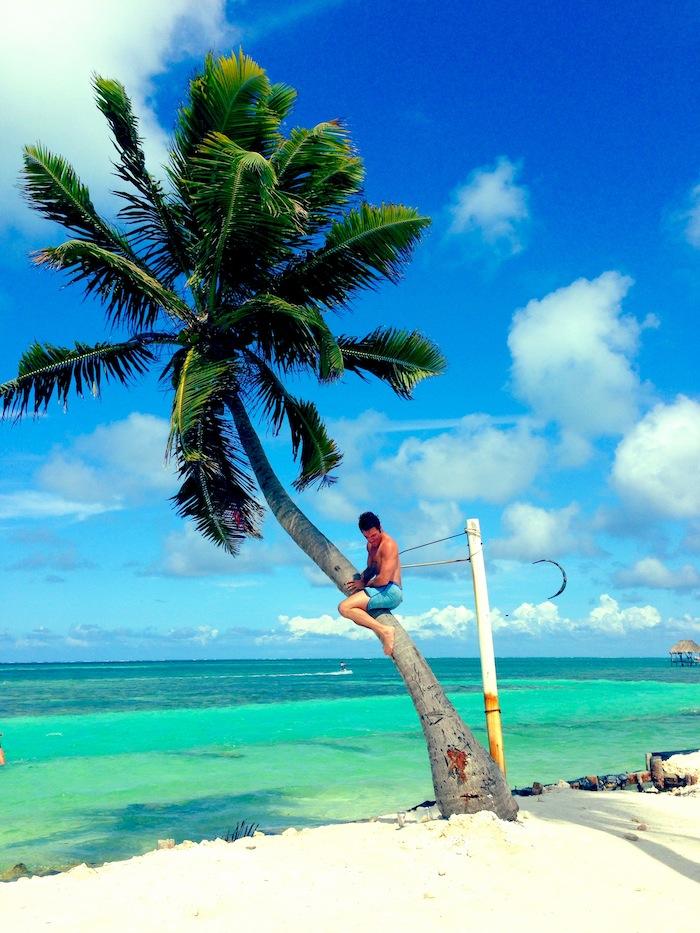 Caye Caulker snorkeling Belize Central America aroundtheworldwithjustin.com