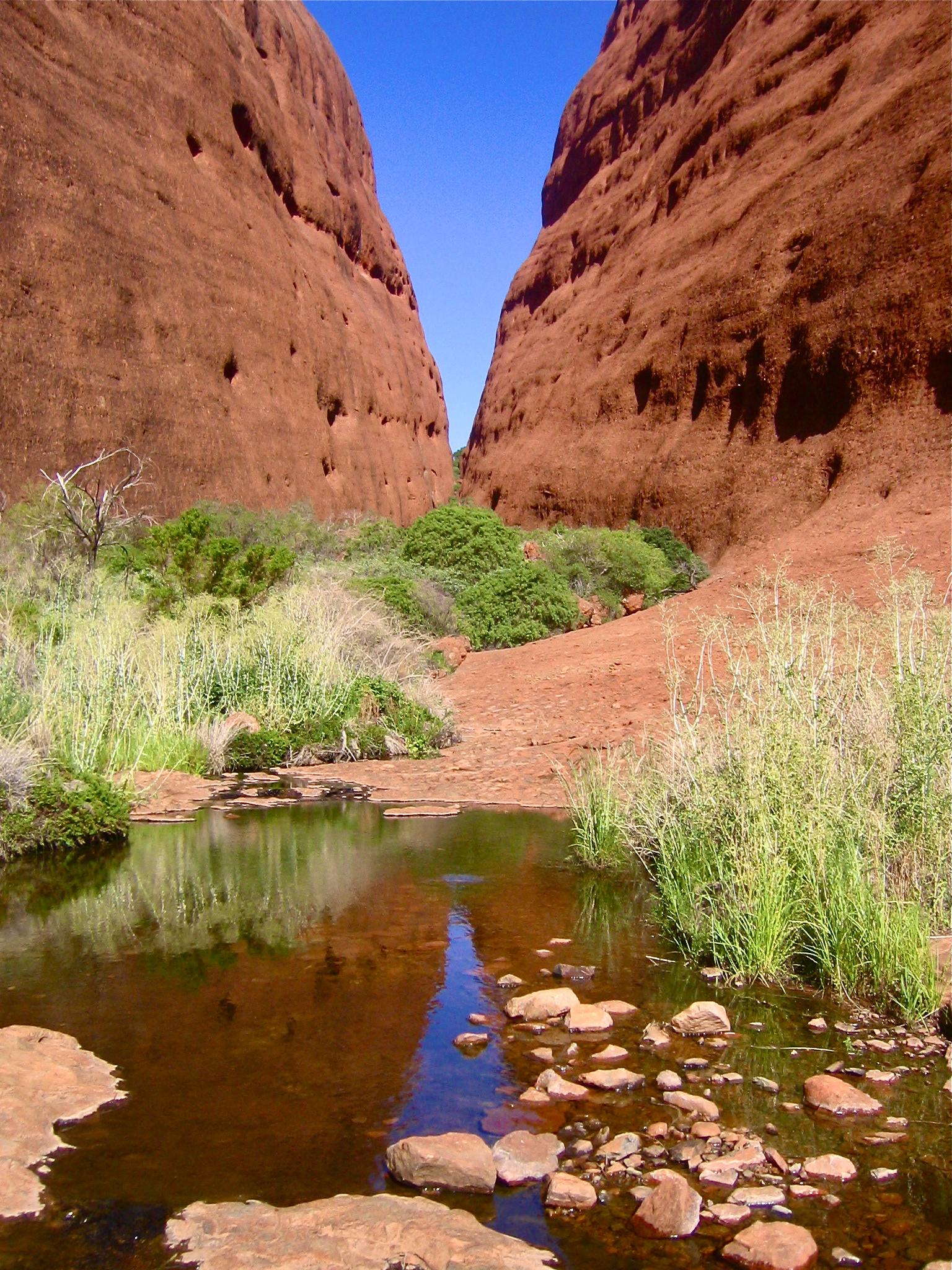 The Australian Outback Australia Kata Tjuta The Olgas aroundtheworldwithjustin.com