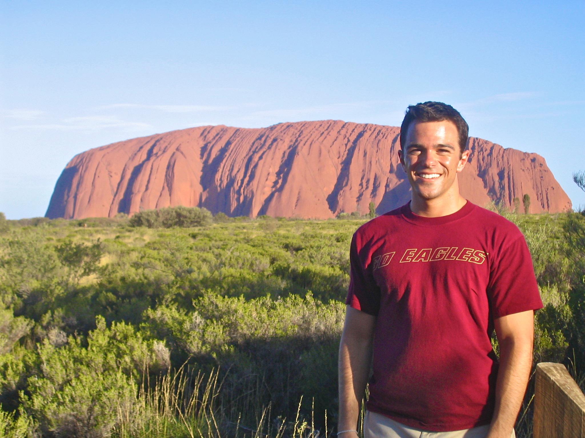 The Australian Outback Australia Ayers Rock Uluru sunset aroundtheworldwithjustin.com
