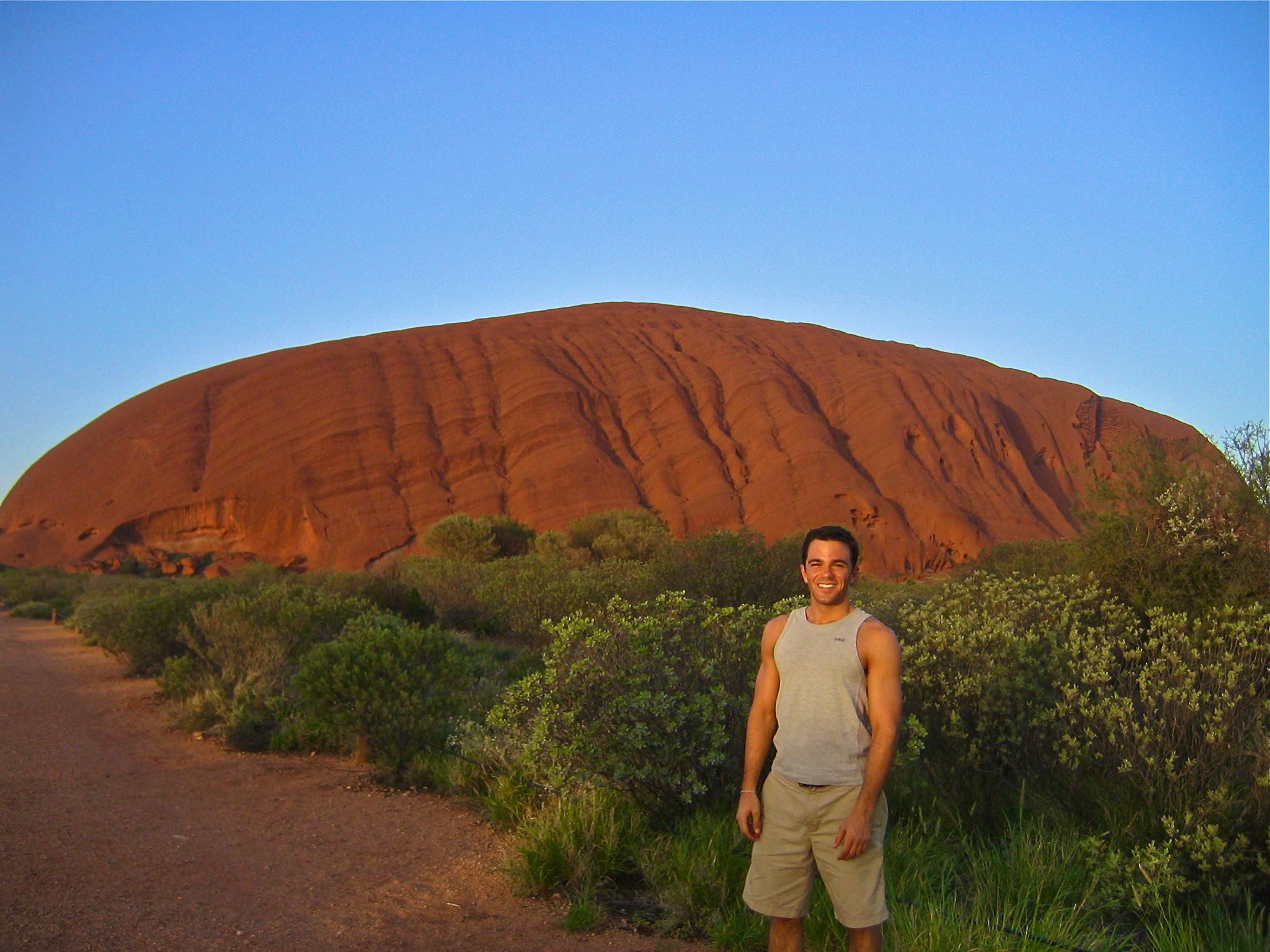 The Australian Outback Australia Ayers Rock Uluru sunrise aroundtheworldwithjustin.com