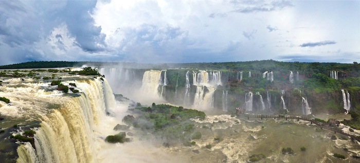 Getting to Iguazu Falls Argentina Brazil Natural Wonder aroundtheworldwithjustin.com