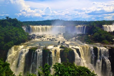 Argentina - Iguazu Falls - Around the World with Justin