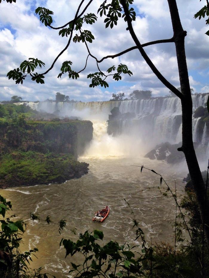 Getting to Iguazu Falls Argentina Aventura Nautica aroundtheworldwithjustin.com