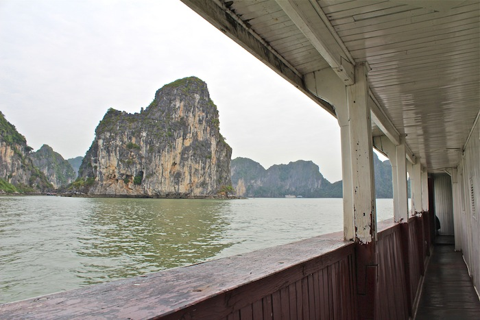Halong Bay Castaway Tour Vietnam aroundtheworldwithjustin.com