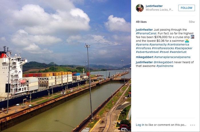 Visiting the Panama Canal amanaplanacanalpanama Miraflores Locks aroundtheworldwithjustin.com