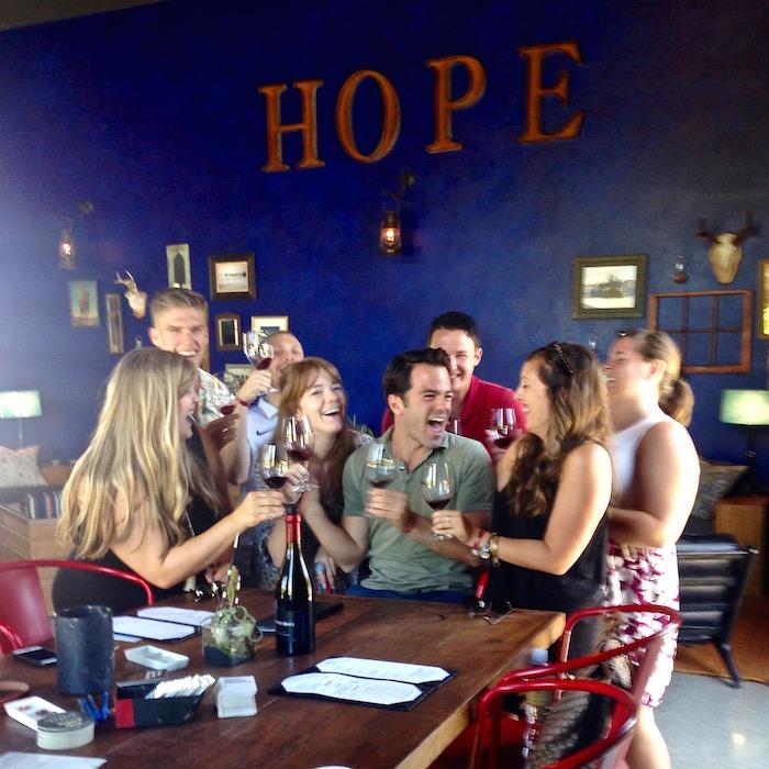 Best Paso Robles Wineries California wine tasting Hope aroundtheworldwithjustin.com