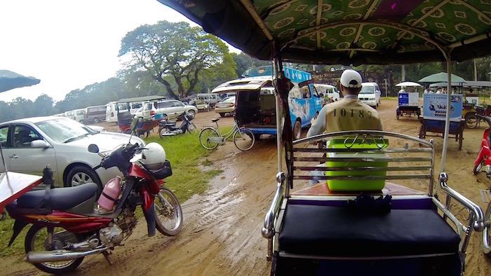Angkor Wat Temples Siem Reap Cambodia Cambodian tuk tuk aroundtheworldwithjustin.com