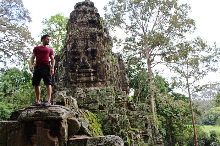 Angkor Wat Temples Siem Reap Cambodia aroundtheworldwithjustin.com