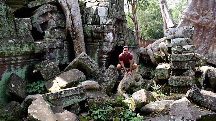 Angkor Wat Temples Siem Reap Cambodia Ta Prohm aroundtheworldwithjustin.com