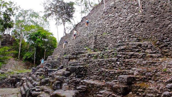 El Mirador Guatemala trek La Danta pyramid aroundtheworldwithjustin.com