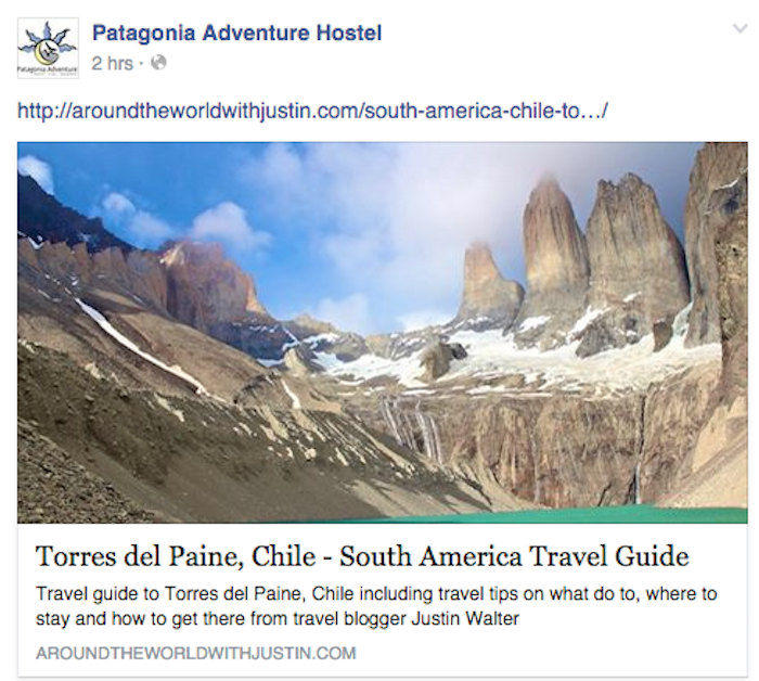 Torres Del Paine Patagonia Chile travel writer Justin Walter