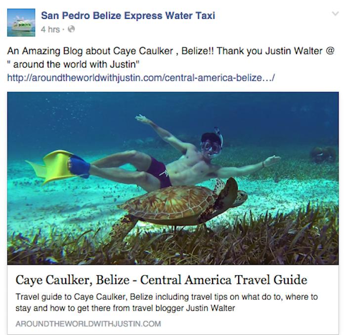 Caye Caulker San Pedro Belize travel writer Justin Walter