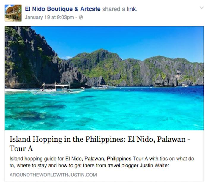 El Nido Palawan Philippines El Nido Boutique and Art Cafe travel writer Justin Walter