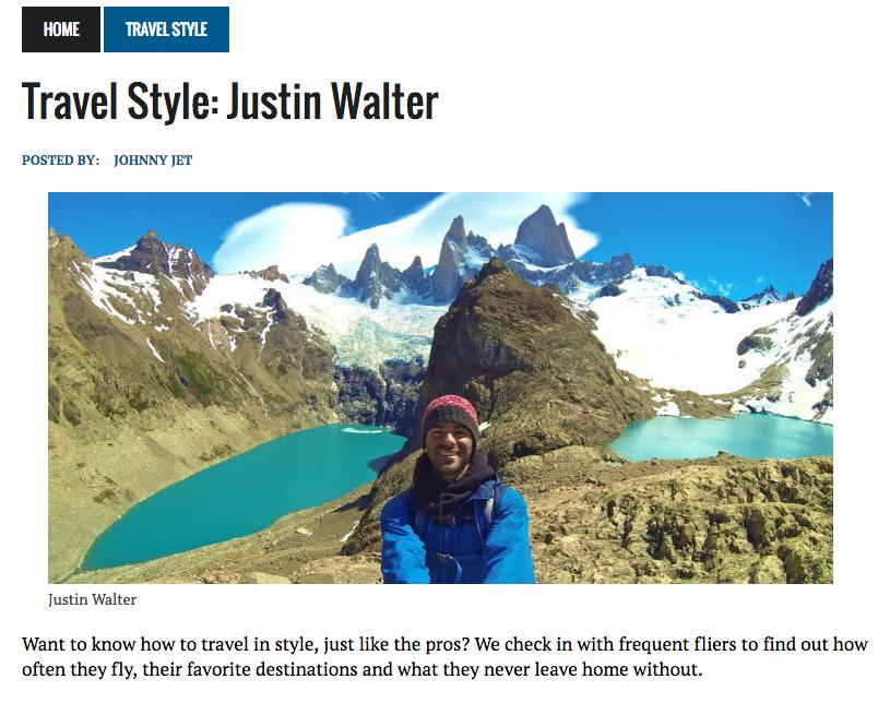 Justin Walter travel writer blog blogger adventure