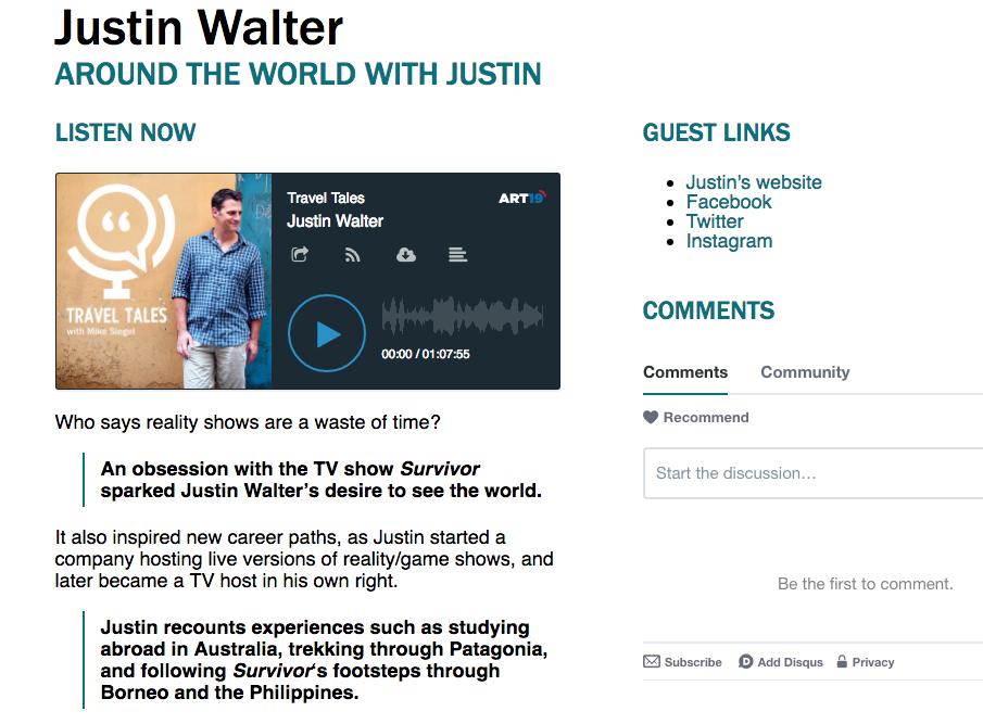 Justin Walter travel writer blogger travel blog adventure atwjustin.com