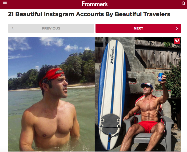 Frommer's Beautiful Instagram Accounts By Beautiful Travelers Justin Walter Travel Blogger Writer