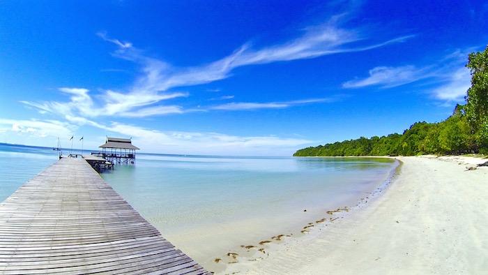Pulau Tiga Resort Survivor Borneo Survivor Island aroundtheworldwithjustin.com