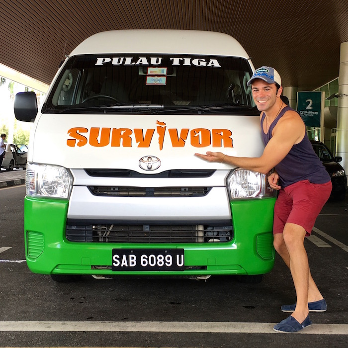 Pulau Tiga Resort Survivor Borneo Sabah Survivor Island aroundtheworldwithjustin.com