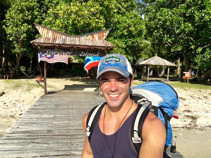 Pulau Tiga Resort Survivor Borneo Justin Walter Survivor Island aroundtheworldwithjustin.com