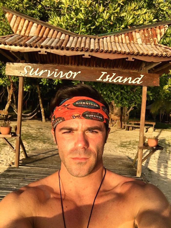 Pulau Tiga Resort Survivor Island Justin Walter aroundtheworldwithjustin.com