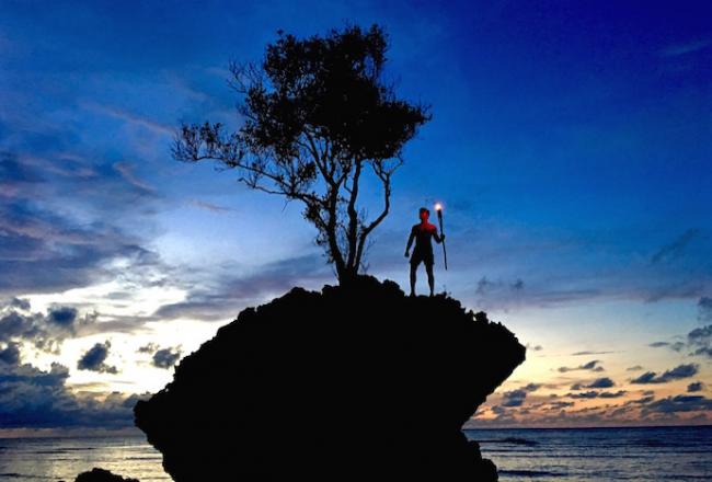 Pulau Tiga Survivor Borneo Justin Walter
