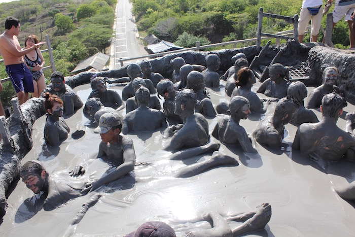 El Totumo Mud Volcano Cartagena Colombia aroundtheworldwithjustin.com