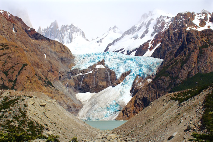 monte fitz roy trek patagonia el chalten hiking glaciar piedras blancas aroundtheworldwithjustin.com
