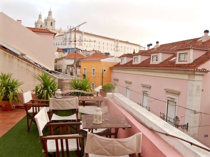 Visit Lisbon Portugal best hotels Alfama Patio Hostel