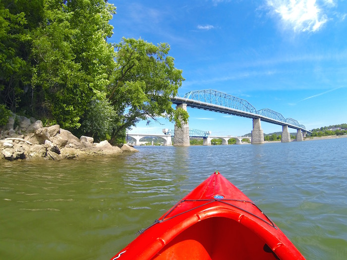 Things To Do In Chattanooga Tennessee River Kayaking kayak