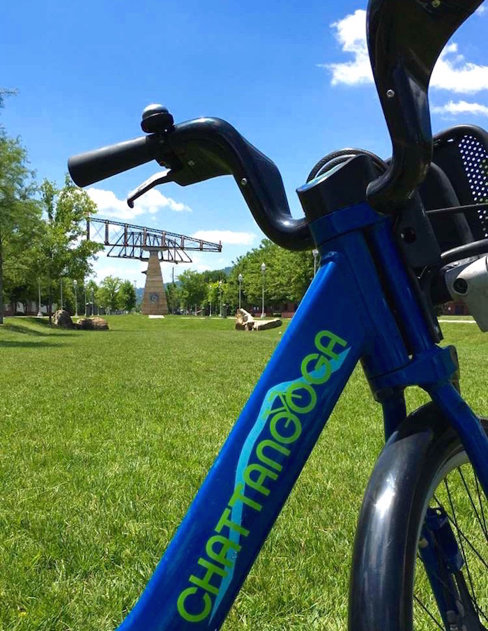 Things To Do In Chattanooga Tennessee bike sharing