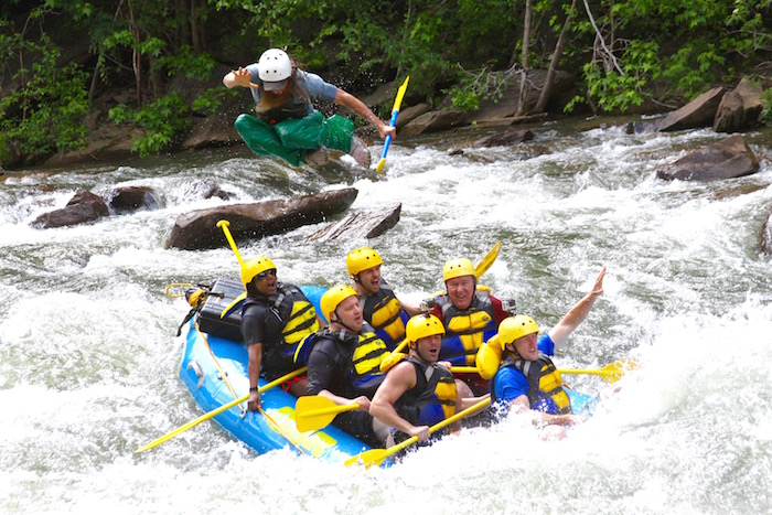 Things To Do In Chattanooga Tennessee OAR Whitewater Rafting Ocoee River