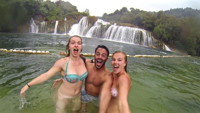krka waterfalls national park croatia europe Skradinski buk atwjustin.com