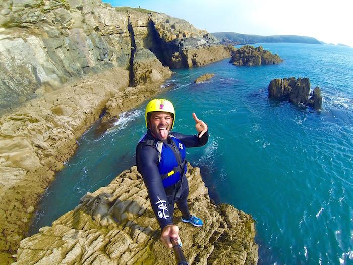 pembrokeshire wales great britain visit britain uk preseli venture coasteering justin walter atwjustin.com