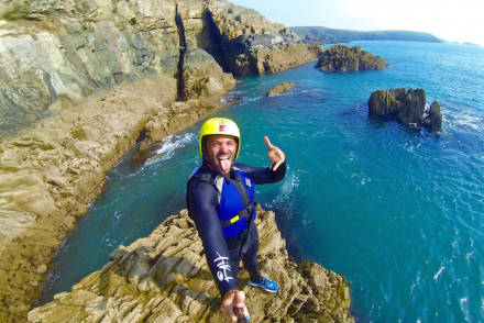 pembrokeshire wales preseli venture coasteering adventure days endorphin blaster sea kayaking