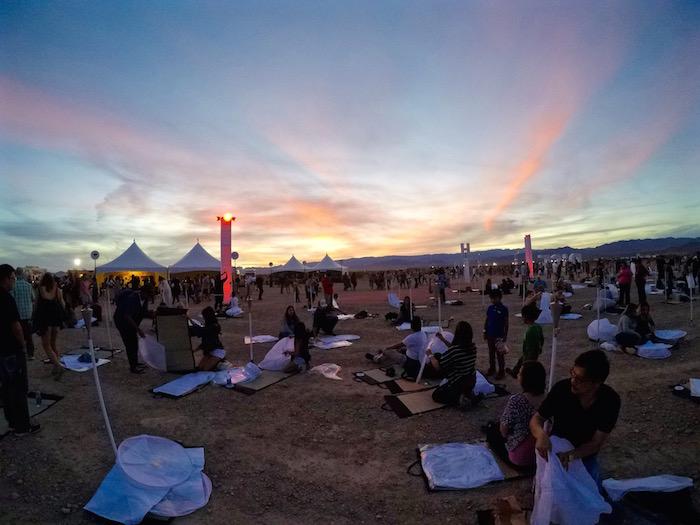 RiSE Festival Mojave Desert Lantern Festival Las Vegas Nevada Moapa River Reservation atwjustin.com