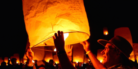 Letting Go at RiSE Festival: The Premier Lantern Festival in the U.S.