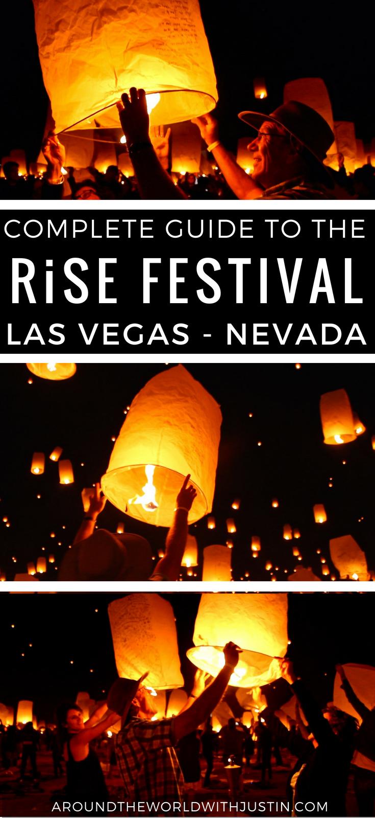 RiSE Lantern Festival Las Vegas Nevada