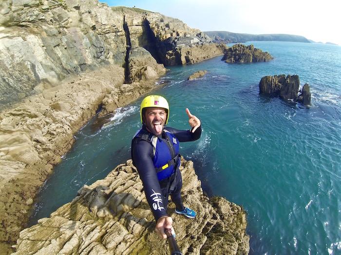 Travel Massive Visit Britain Pembrokeshire Wales OMGB Justin Walter travel writer blogger coasteering atwjustin.com