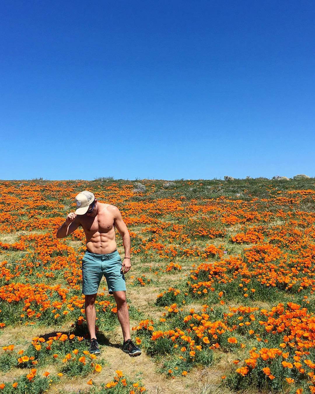 Antelope Valley California Poppy Reserve Super Bloom travel blogger writer Justin Walter atwjustin.com