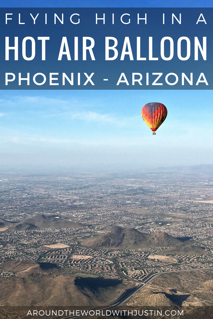 Hot Air Balloon Phoenix Arizona