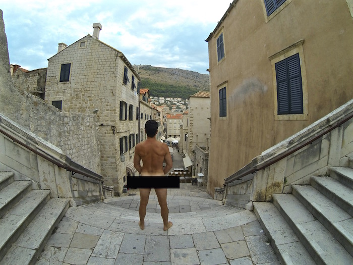 Game of Thrones Walk of Atonement Shame Cersei Lannister Kings Landing Dubrovnik Croatia GOT
