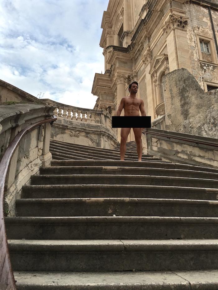 Game of Thrones Walk of Atonement Shame Cersei Lannister Kings Landing Dubrovnik Croatia GOT
