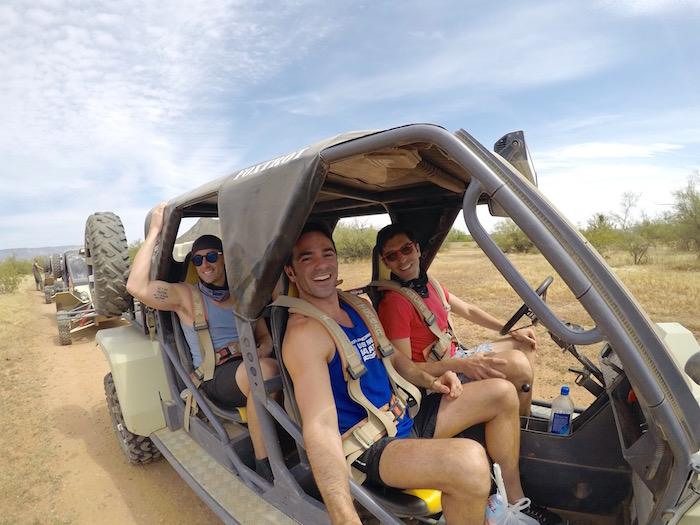 Desert Wolf Tours Tomcar ATV Tour things to do in scottsdale arizona phoenix nick todisco michael hundgen justin walter