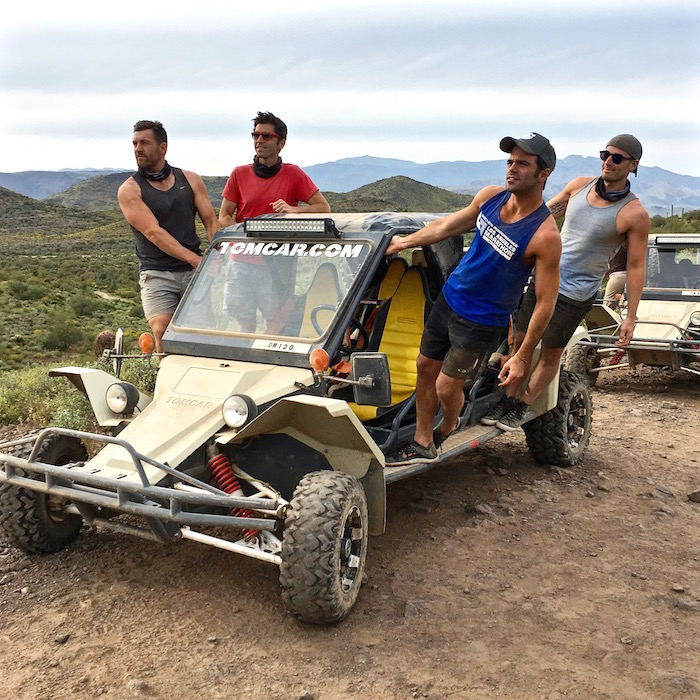 Desert Wolf Tours Tomcar ATV Tour things to do in scottsdale arizona phoenix nick todisco justin walter ben roy michael hundgen
