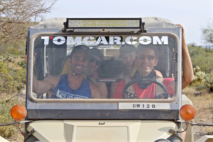 Desert Wolf Tours Tomcar ATV Tour things to do in scottsdale arizona phoenix michael hundgen nick todisco ben roy justin walter