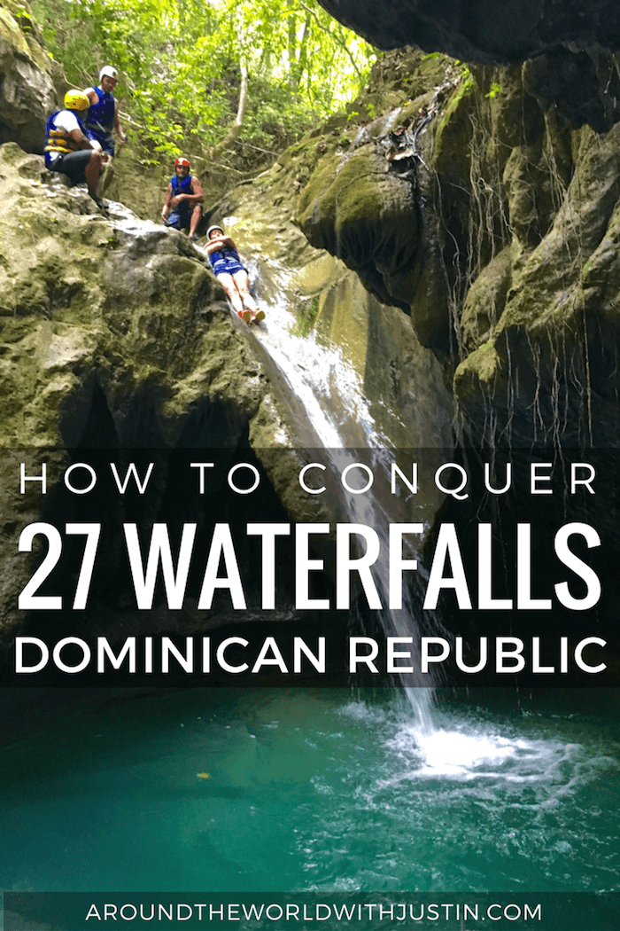 Visiting the Dominican Republic? Conquer 27 Waterfalls aka 27 Charcos near Puerfo Plata.