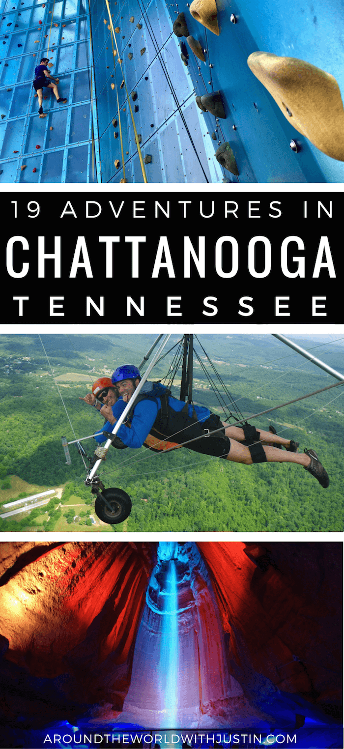 Visiting Tennessee? Here are 19 Adventurous things to do in Chattanooga.