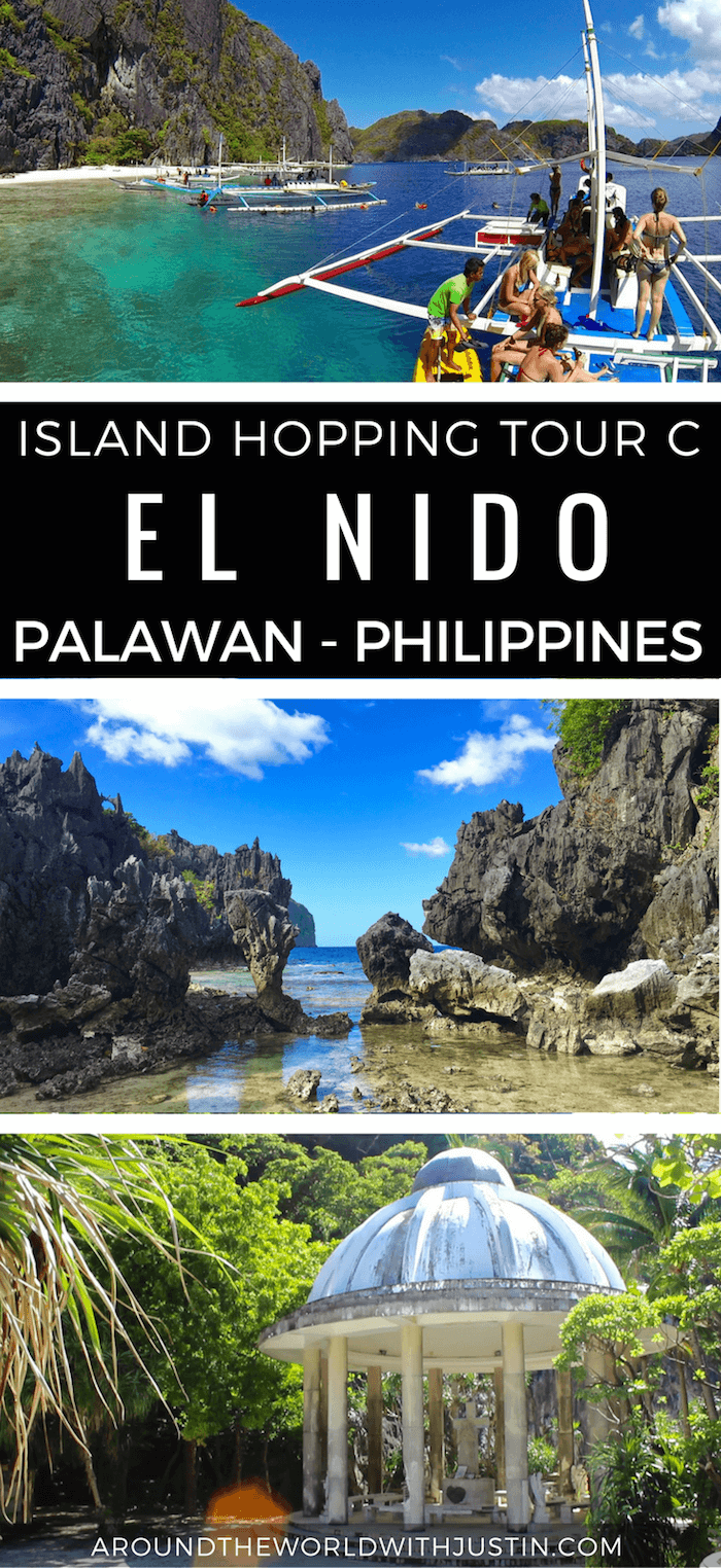 Thinking about island hopping in El Nido Palawan Philippines? Check out this guide for Tour C.
